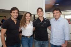 Rodrigo e Gabriela Carvalho, Andre Fiuza e Luiz Teixeira