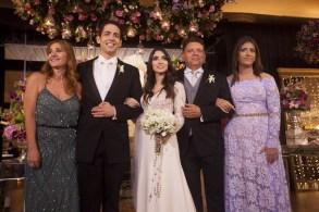 Wladia Diniz, Angelo Figueiredo, Lorie Diniz, Luiz Helder e Alicia Diniz