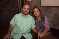 Acelio Abreu e Ana Lina Sales