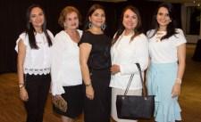 Arlene Castelo, Rosali Moura, Celina Castro Alves, Ana Luisa Costa e Wiliane Loren (1)