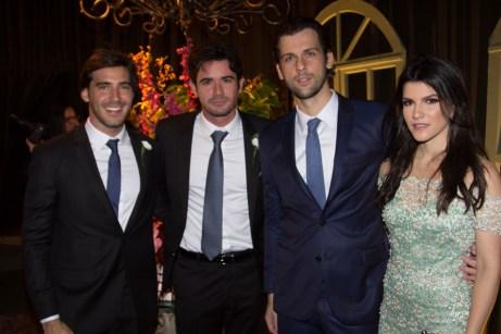 Auzir Araujo, Ivens Neto, Henrique e Liana Brasil