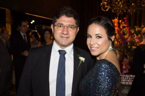 Barreto Neto e Mariana Barreto