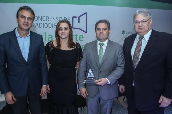 Camilo Santana , Carmen Dummar , Edson Queiroz Neto e Moroni Torgan (5)