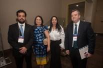 Cassio Pacheco, Socorro Torquato, Valeria Colares e Leonardo Vasconcelos