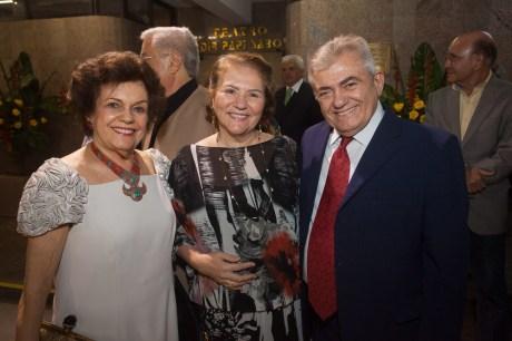 Constança Tavora, Socorro Fujita e Abdeias Bezerra