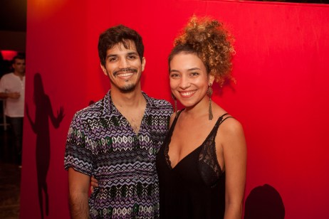 Daniel Xaxine e Flavia Rodrigues