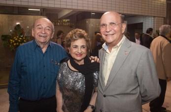Edson Liberato, Fernanda Quinderé e João Soares