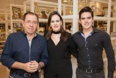 Flavio, Neusa e Fabricio Macedo