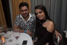 Francisco Filho e Maria Eduarda Camargo