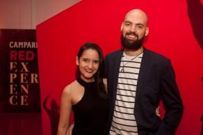 Juliana Theofilo e Lucas Coelho