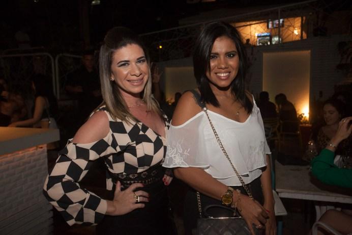 Kersia Lopes e Raquel Medeiros