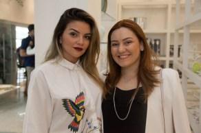 Livia Baral e Nicole Matos