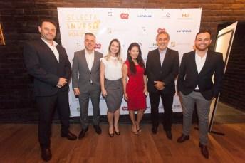 Luciano Andreoti, Marcelo Cruz, Jessica Alves, Bruna Sereno, Paulo Angelim e