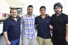 Marcos Viveiros, Rafael e Pedro Wilson Carneiro e Berg Reis