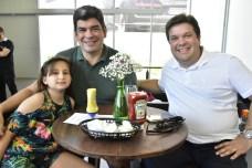 Maria Gabriela e Marcos Aurelio Rebolsas e Francisco Vale