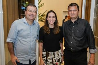 Ricardo Bezerra , Renta Santos e Eduardo Pimentel