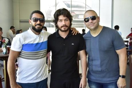 Ricardo Carvalho, Berg Reis e Gostozinho Rebolsas
