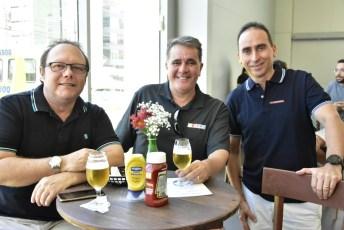 Ricardo Figueredo, Anderson Figaro e Eugenio Matos