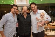 Ricardo Rocha e Arthur Macedo e Aberlado Oliveira