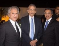 Ricardo Rolim, Macelo Sanford e Eduardo Rolim