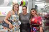 Talynie Mihaliuc, Marcia Travessoni e Roberta Quaranta