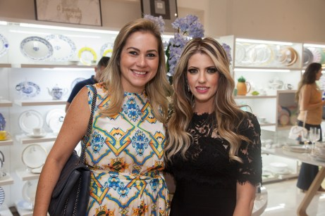 Talynie Mihaliuc e Raquel Macedo