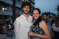 André Sobreira e Cintia Melo