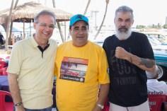 Auriz Barreira, Péricles Gomes e Walter Luz (1)