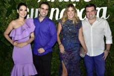 Catarine e André Guanabara, Patricia e Danilo Dias