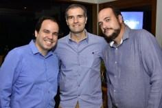 David Sousa, Eduardo Figueredo e Rafael Aguiar