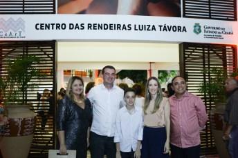 Denise Aguiar, Josbertini, Vera e Leonardo Clementino e Jair Silva (2)