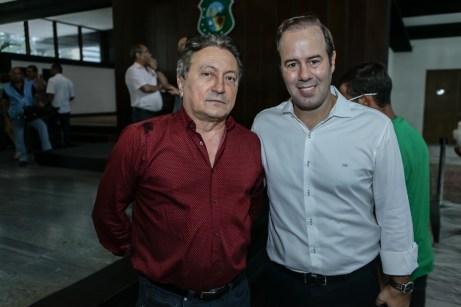 Euvaldo Bringel e Cesar Ribeiro