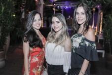 Janine Pontes, Leticia Barros e Julia Silpon