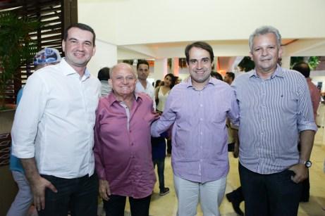Josbertini Clementino, Edson Sa, Salmito Filho e Andre Figueiredo (1)