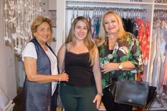 Lúcia, Carolina e Eugênia Pinto