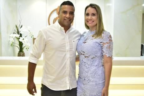 Márcio Machado e Adriana Aguiar