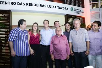 Osmar Baquit, Onelia, Camilo Santana, Edson Sa, Josbertini Clementino, Bruno Gonçalves, Andre Figueiredo e Salmito Filho (5)