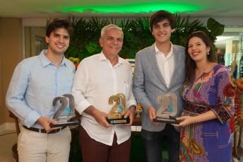Pedro Fernandes, Luiz Henrique Coelho, Thiago e Luiza Fernandes