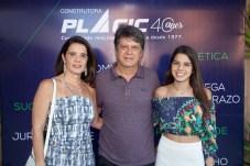 Silvia, Adriano e Luiza Borges