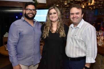 Thauyan Ramires, Dinalva Queiroz e Daniel Gurgel
