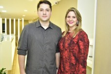 Victor Paese e Debora Maia