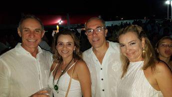 Átila Machado , Najila Caracas , Beto e Louise Santos