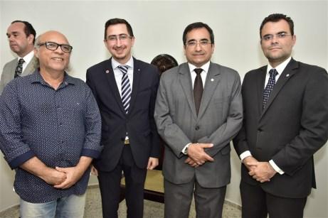 Amaro Penna, Roberto Victor, Jardson Cruz e Rodrigo Costa