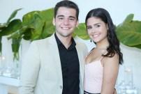Arthur Gerim e Vânia Marques