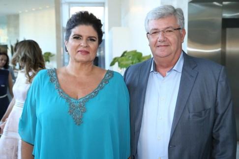 Cristiane e Carlos Maia
