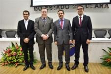 David Barreto, Valdomiro Tavóra, Edilberto Pontes e Rholden Queiroz