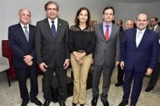 Gledson Pontes, Zezinho Albuquerque, Izolda Cela, Edilberto Pontes e Roberto Claúdio Bezerra