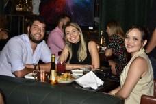 Guilherme Frauche, Alexandra Lima e Michele Viana