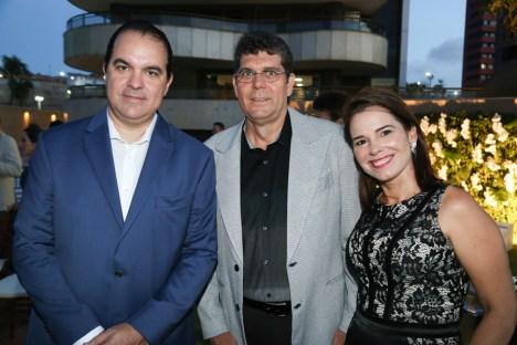 Leonardo Albuquerque, Marcelo e Luciana Chery