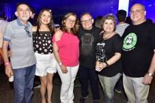 Manoel e Maria Lucia Evangelista, Virginia Aragão, Humbert Carvalho, Angela e Romulo Barbosa